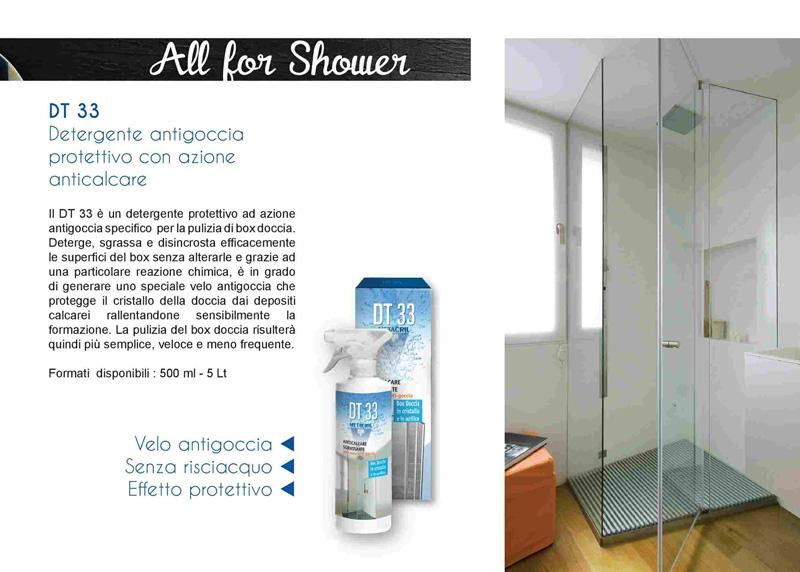 Detergente Anticalcare Box Doccia