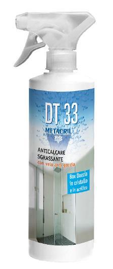 Detergente anticalcare sgrassante