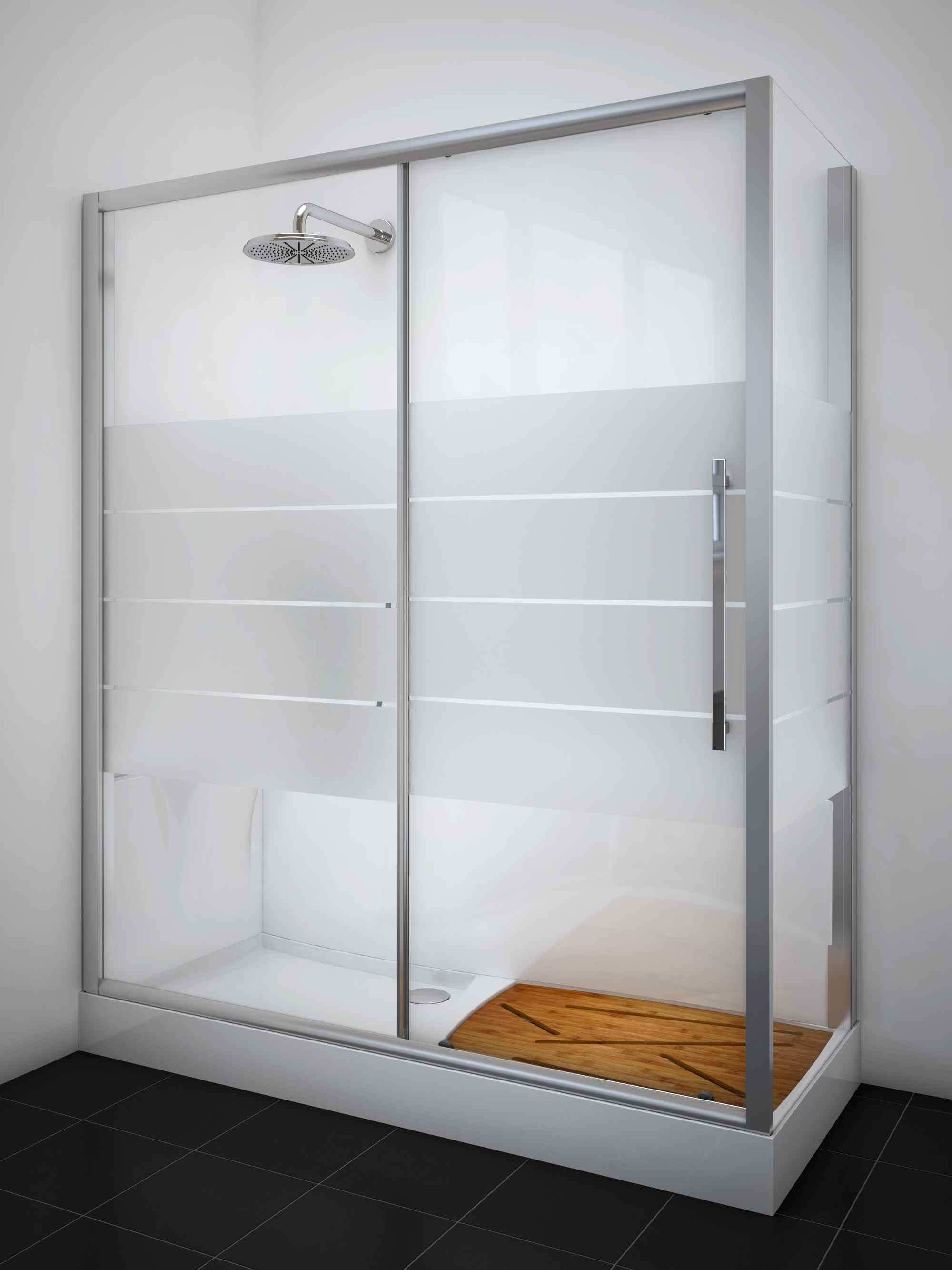 Trasforma facilmente la tua vasca da bagno in doccia senza - Box doccia senza silicone ...