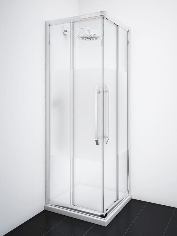 Box doccia 70x70 Scorrevole Cristallo Temperato 8mm