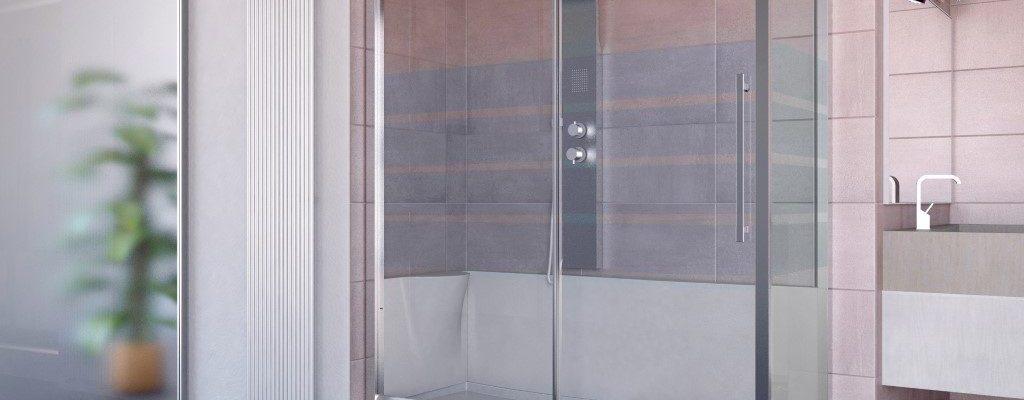 Sostituzione vasca con box doccia ed installazione