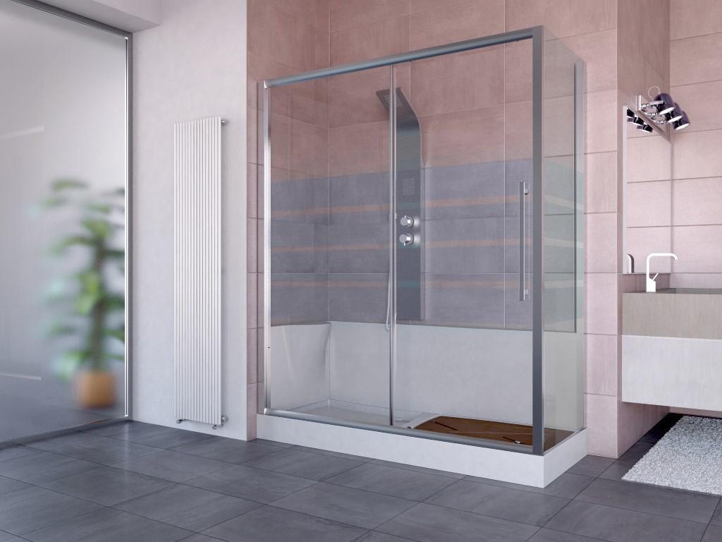 Trasformare la vasca in doccia box doccia bivita - Trasformare la vasca da bagno in doccia ...